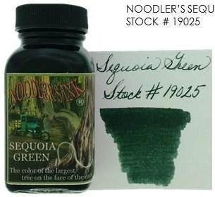 NOODLER'S NOODLER'S BOTTLED INK 3 OZ SEQUOIA GREEN