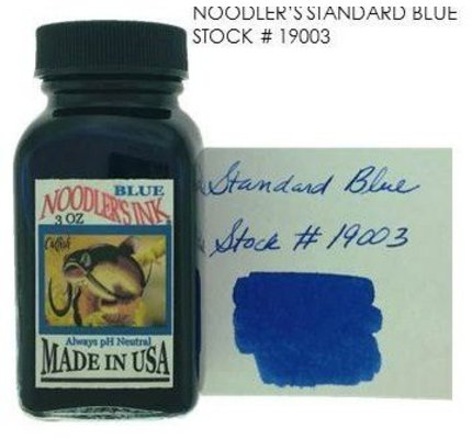 NOODLER'S NOODLER'S BLUE - 3OZ BOTTLED INK