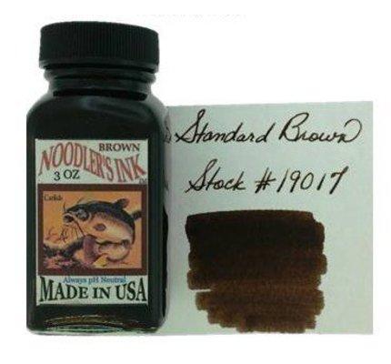 NOODLER'S NOODLER'S BROWN - 3OZ BOTTLED INK