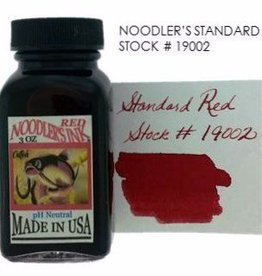 NOODLER'S NOODLER'S BOTTLED INK 3 OZ STANDARD RED