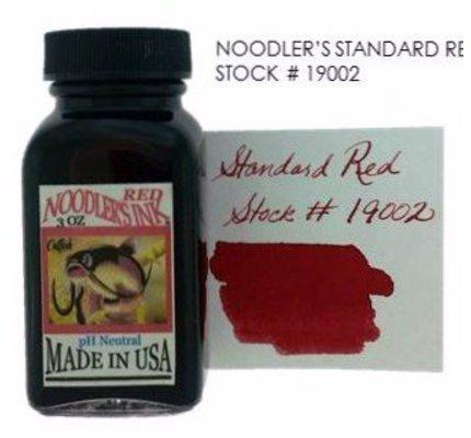 NOODLER'S NOODLER'S RED - 3OZ BOTTLED INK
