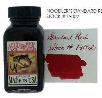 NOODLER'S NOODLER'S BOTTLED INK 3 OZ STANDARD RED
