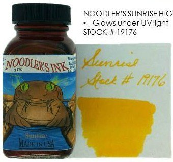 NOODLER'S NOODLER'S BOTTLED INK 3 OZ SUNRISE