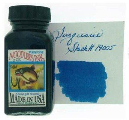 Noodler's NOODLER'S TURQUOISE - 3OZ BOTTLED INK