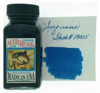 NOODLER'S NOODLER'S BOTTLED INK 3 OZ TURQUOISE
