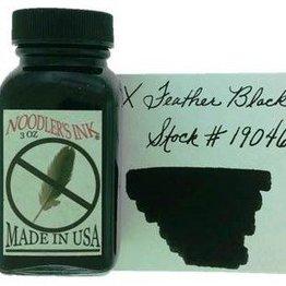 Noodler's NOODLER'S X FEATHER BLACK - 3OZ BOTTLED INK