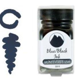MONTEVERDE MONTEVERDE BOTTLED INK 30 ML BLUE BLACK