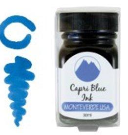 MONTEVERDE MONTEVERDE BOTTLED INK 30 ML CAPRI BLUE