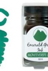 MONTEVERDE MONTEVERDE BOTTLED INK  EMERALD GREEN