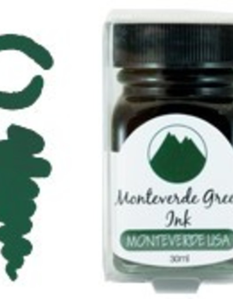 MONTEVERDE MONTEVERDE MONTEVERDE GREEN - 30ML CORE BOTTLED INK