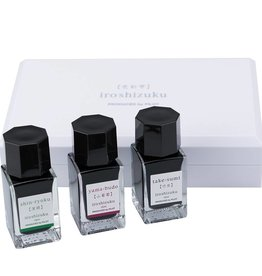 PILOT PILOT IROSHIZUKU BOTTLED INK 3 PIECE COLOR INK SET WINTER