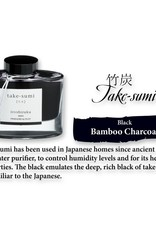 PILOT PILOT IROSHIZUKU BOTTLED INK BAMBOO CHARCOAL TAKE-SUMI