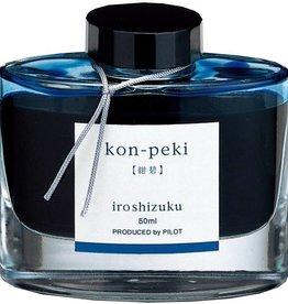 PILOT PILOT IROSHIZUKU KON-PEKI CERULEAN BLUE 50 ML BOTTLED INK
