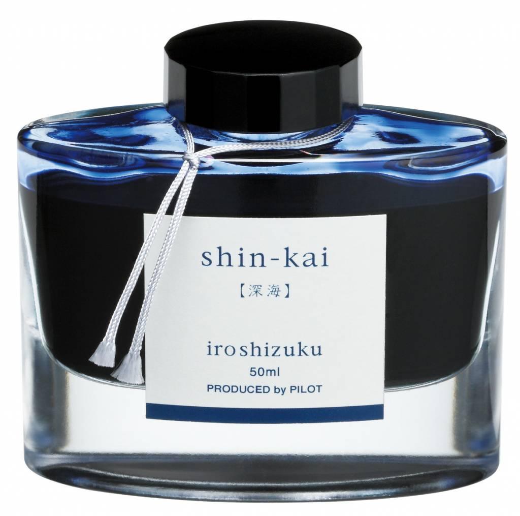 PILOT PILOT IROSHIZUKU BOTTLED INK DEEP SEA SHIN-KAI