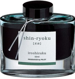 PILOT PILOT IROSHIZUKU BOTTLED INK 50 ML SHIN-RYOKU FOREST GREEN