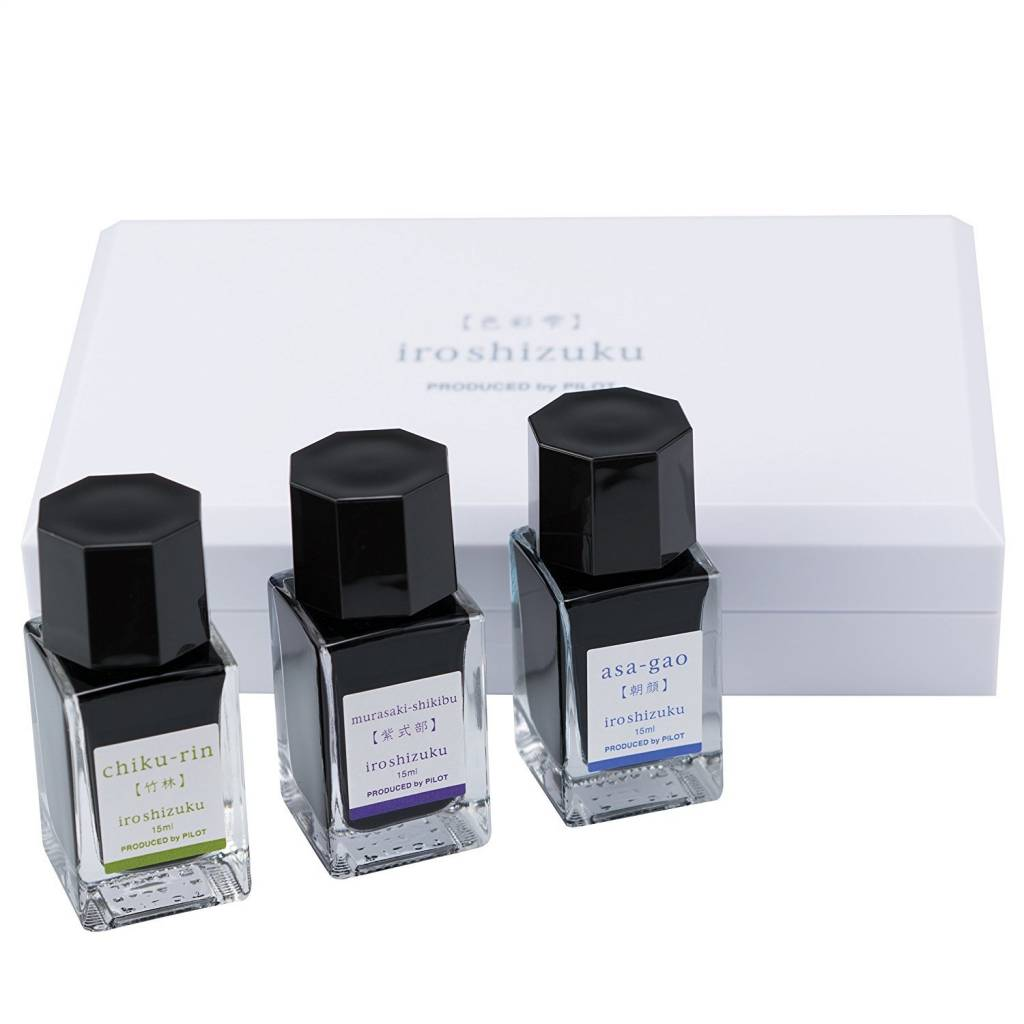 PILOT PILOT IROSHIZUKU 3 PIECE COLOR INK SET SPRING