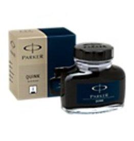 PARKER PARKER QUINK PERMANENT BLUE-BLACK - 57ML BOTTLED INK