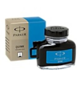 PARKER PARKER QUINK BOTTLED INK WASHABLE BLUE