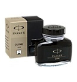 PARKER PARKER QUINK BOTTLED INK PERMANENT BLACK