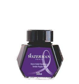 WATERMAN WATERMAN BOTTLED INK 50 ML TENDER PURPLE