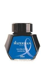 WATERMAN WATERMAN BOTTLED INK SERENITY BLUE