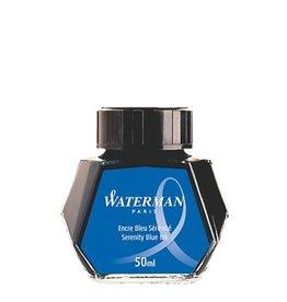 WATERMAN WATERMAN BOTTLED INK 50 ML SERENITY BLUE