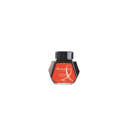 WATERMAN WATERMAN AUDACIOUS RED - 50ML BOTTLED INK