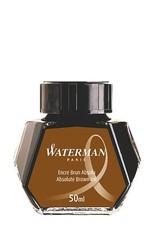 WATERMAN WATERMAN BOTTLED INK ABSOLUTE BROWN