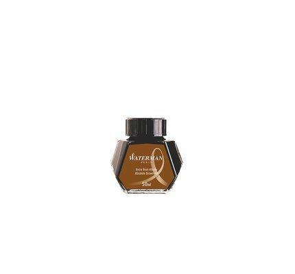 Waterman Waterman Absolute Brown - 50ml Bottled Ink