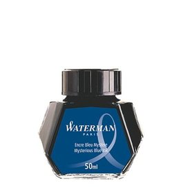 WATERMAN WATERMAN 50 ML BOTTLED INK MYSTERIOUS BLUE