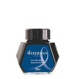 WATERMAN WATERMAN 50 ML MYSTERIOUS BLUE BOTTLED INK