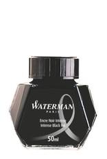 WATERMAN WATERMAN BOTTLED INK 50 ML INTENSE BLACK