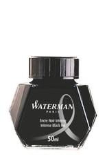 WATERMAN WATERMAN INTENSE BLACK - 50ML BOTTLED INK