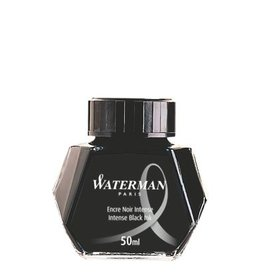 WATERMAN WATERMAN INTENSE BLACK - 50ML BOTTLED INK
