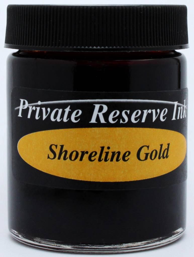 PRIVATE RESERVE PRIVATE RESERVE 66ML BOTTLED INK SHORELINE GOLD