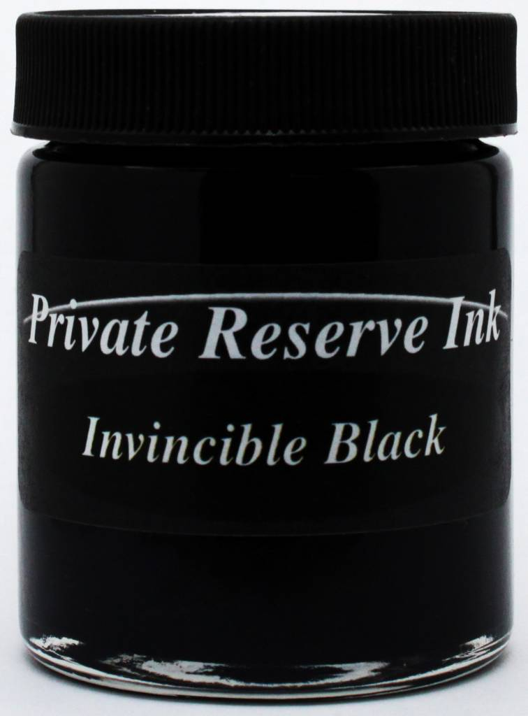 PRIVATE RESERVE PRIVATE RESERVE 66ML BOTTLED INK INVINCIBLE BLACK