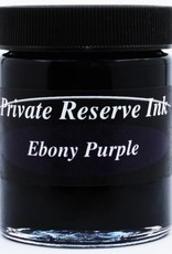 PRIVATE RESERVE PRIVATE RESERVE 66ML BOTTLED INK EBONY PURPLE