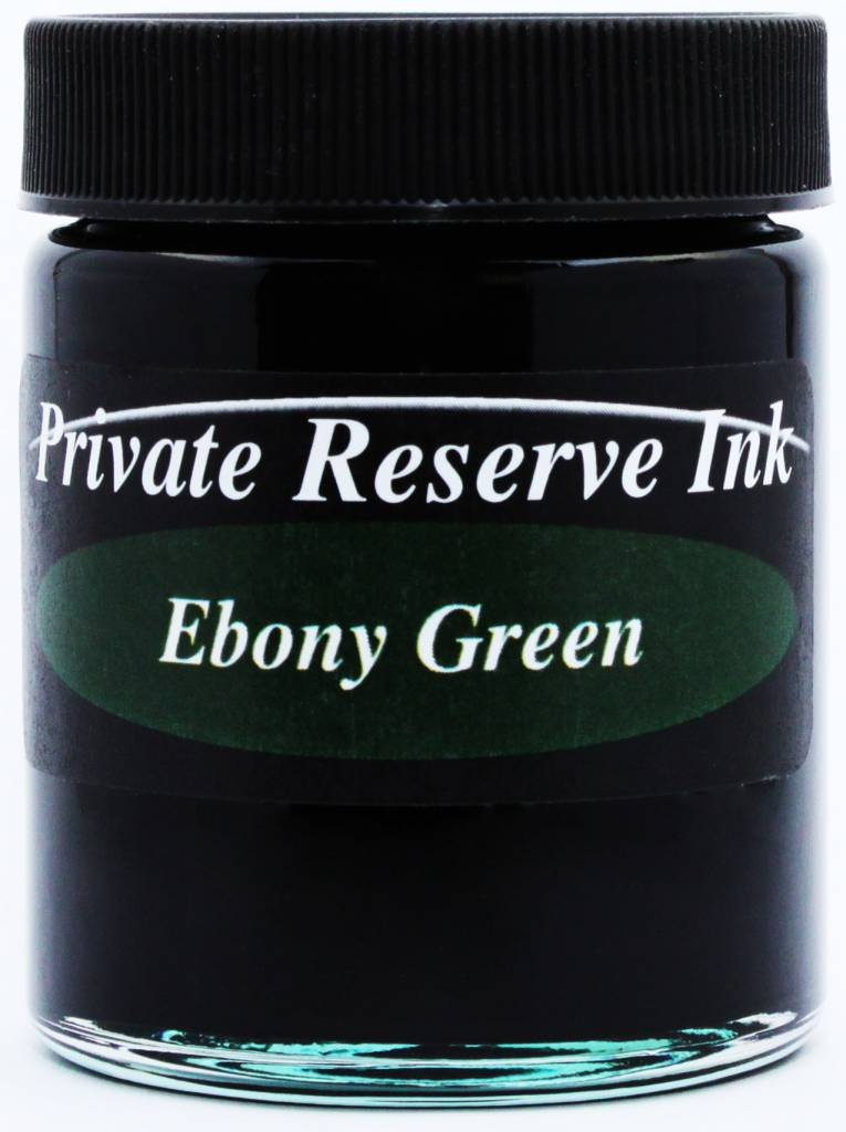 PRIVATE RESERVE PRIVATE RESERVE 66ML BOTTLED INK EBONY GREEN