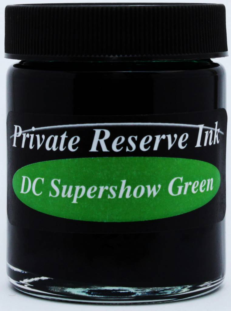 PRIVATE RESERVE PRIVATE RESERVE 66ML BOTTLED INK DC SUPERSHOW GREEN
