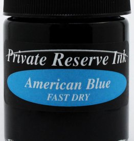 PRIVATE RESERVE PRIVATE RESERVE 66ML BOTTLED INK AMERICAN BLUE FAST DRY