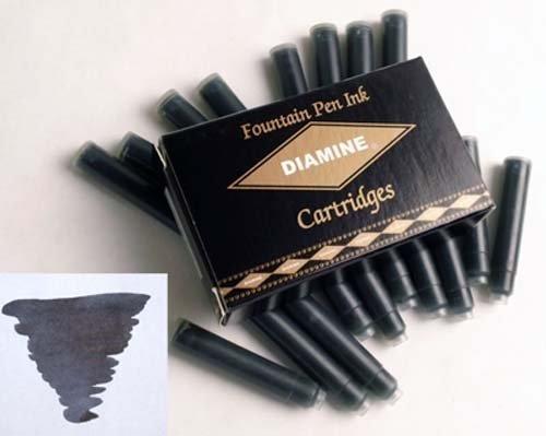 DIAMINE DIAMINE INK CARTRIDGES BLACK
