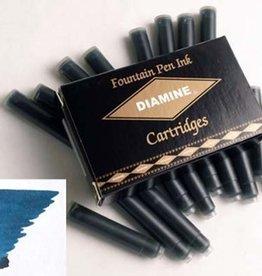 DIAMINE DIAMINE INK CARTRIDGES BLUE/BLACK