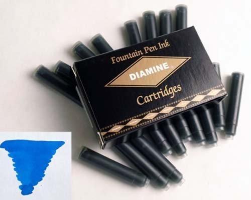 DIAMINE DIAMINE INK CARTRIDGES MEDITERRANEAN BLUE