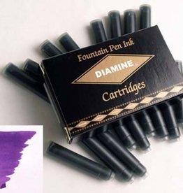 DIAMINE DIAMINE INK CARTRIDGES IMPERIAL PURPLE