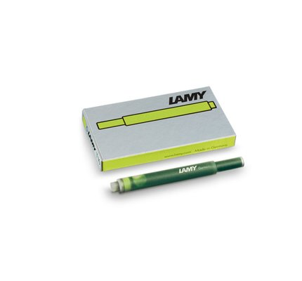 LAMY LAMY CHARGED GREEN - INK CARTRIDGES