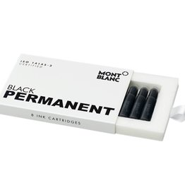 MONTBLANC MONTBLANC INK CARTRIDGES PERMANENT BLACK