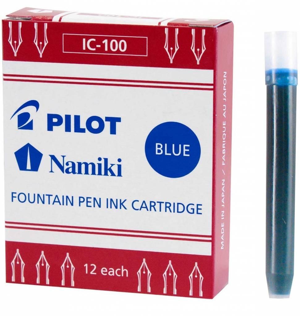 PILOT PILOT INK CARTRIDGES 12 EA BLUE