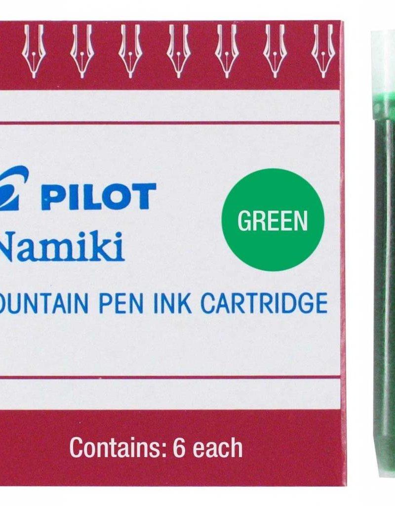 PILOT PILOT INK CARTRIDGES 6 EA GREEN