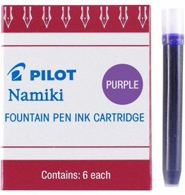 PILOT PILOT INK CARTRIDGES 6 EA PURPLE