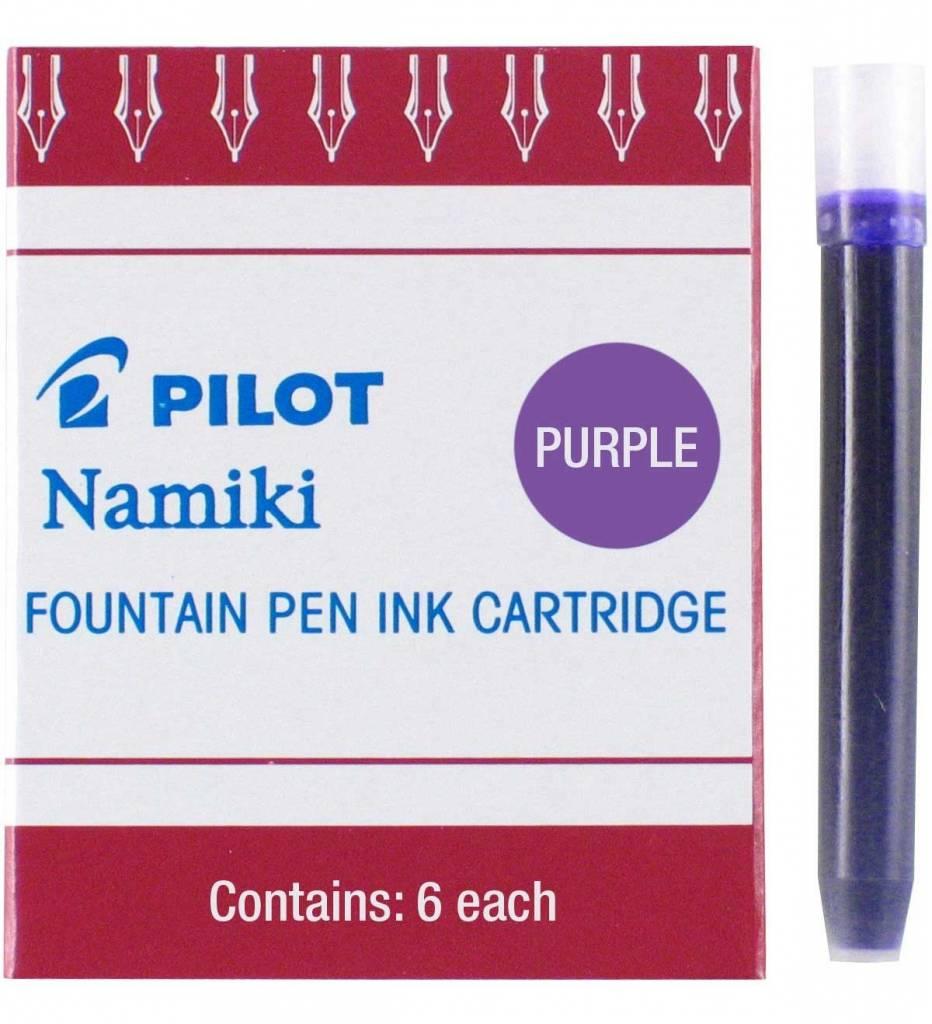 PILOT PILOT INK CARTRIDGES 6 EA PURPLE